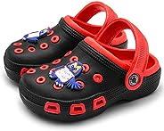 Knemksplanet Toddler Little Kids Clogs Slippers Sandals, Non-Slip Girls Boys Clogs Slide Lightweight Garden Sh