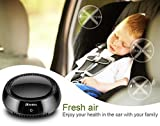 Cheap Portable Car Air Purifier,Auto True HEPA Filter Mini Travel USB Air Cleaner Air Freshener Cigarette Smoke,Odor Smell,Bacteria Remover for Small Bedroom,Pets Room,Refrigerator