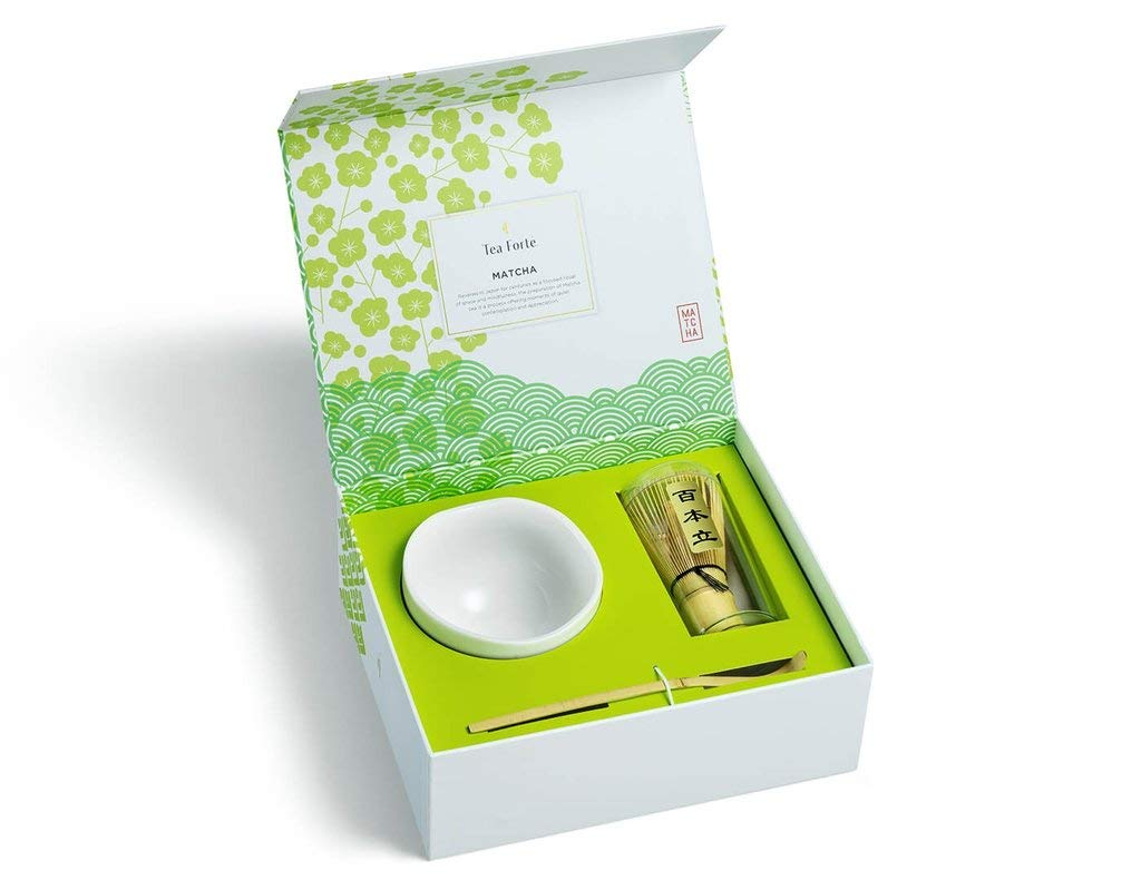 Tea Forte Ceremonial Matcha Bowl Set