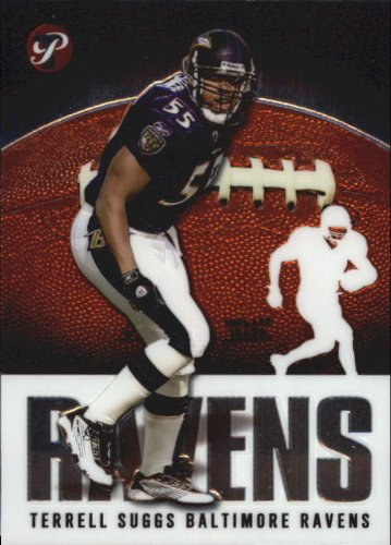 2003 Topps Pristine Football Rookie Card #144 Terrell Suggs ()