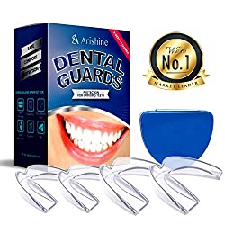 Mouth Guard for Grinding Teeth-Night Guard-Dental Guard with Case for Sleeping Mouthguard