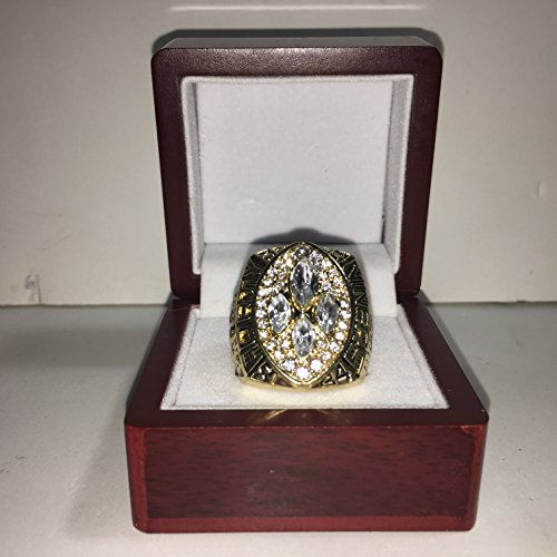49ers Super Bowl - 1989 Joe Montana San Francisco 49ers High Quality Replica 1989 Super Bowl XXIV Ring Size 10-Gold US SHIPPING