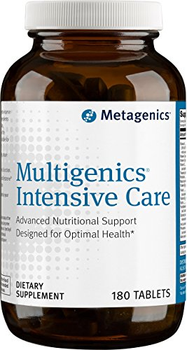 Metagenics Multigenics Intensive Care Tablets, 180 Count - Intensive Care 180 Tabs