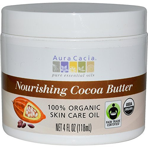 Aura Cacia, Nourishing Cocoa Butter, 4 fl oz (118 ml) - 2pc