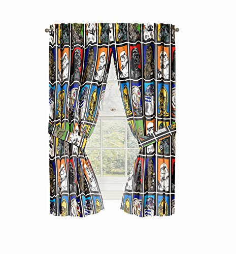 Star Wars Panels Classic Curtain