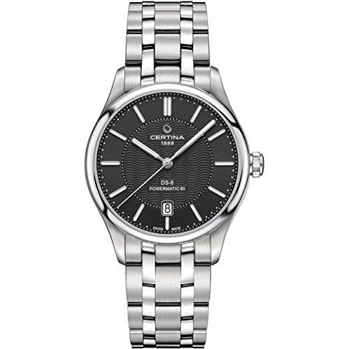 Certina Reloj de mujer automático 39mm correa de acero caja de C0334071105100