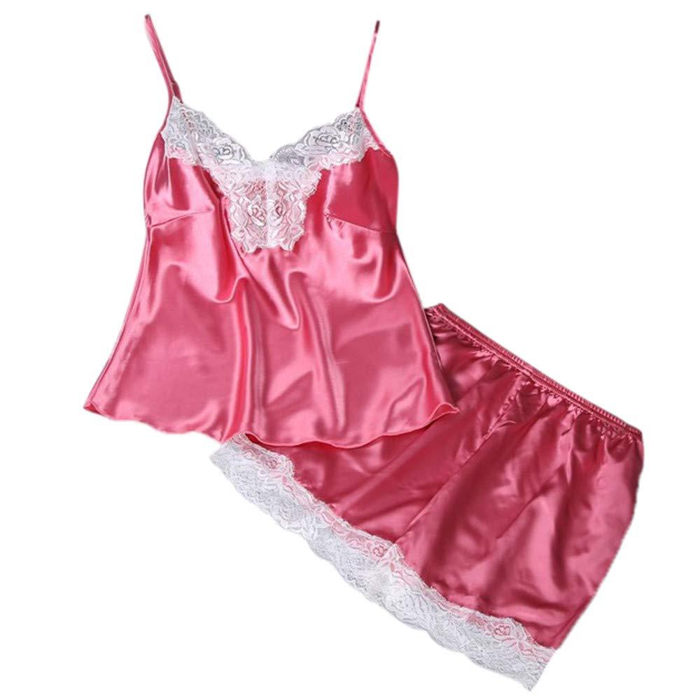 0c9abcb475 Amazon.com  2019 Blue Lingerie 2PC Lingerie Women Babydoll Nightdress  Nightgown Sleepwear Underwear Set  Clothing