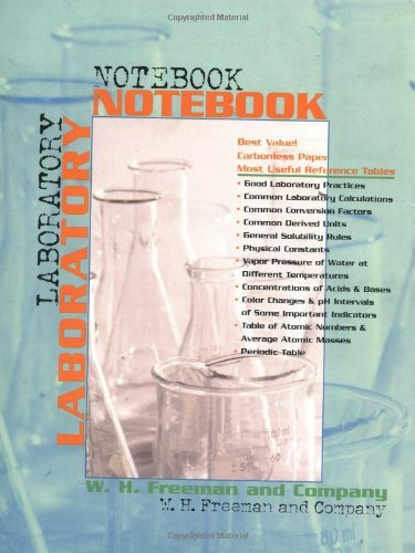 By W.H. Freeman and Company - Chemistry Laboratory Student Notebook: 2nd (second) Edition