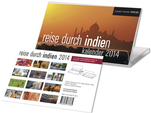 reise durch indien 2014: Tischkalender