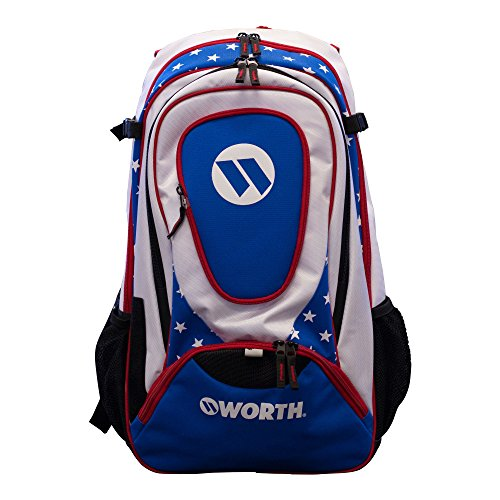 Worth Backpack WORGBP - Red/White/Blue