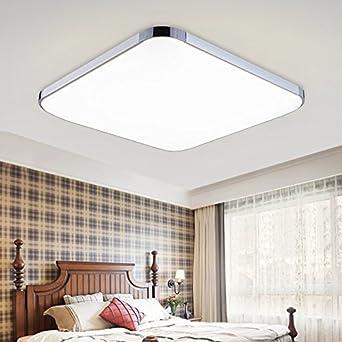 HENGDA 36W LED Wand- Deckenleuchte Deckenlampe Wohnzimmer Esszimmer Modern  Energiespar Leuchte (Weiß)