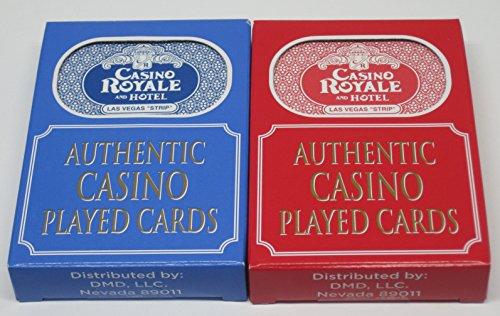 Casino Playing Cards - Casino Royale Las Vegas, Nevada 2 Used Decks