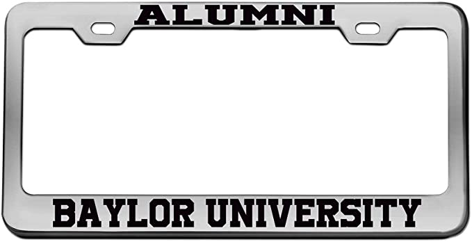 Elektroplate University of Tennessee Alumni Black License Plate Frame