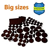 Best Furniture Pads for Hardwood Floors X-PROTECTOR Premium XXL SIZES Furniture Pads! BIG SIZES of Heavy Duty Felt Pads Furniture Feet – Your Best Wood Floor Protectors. Protect Your Hardwood & Laminate Flooring From Heavy Furniture!