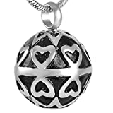Eternal Sunshine Cremation Jewelry Stainless Steel