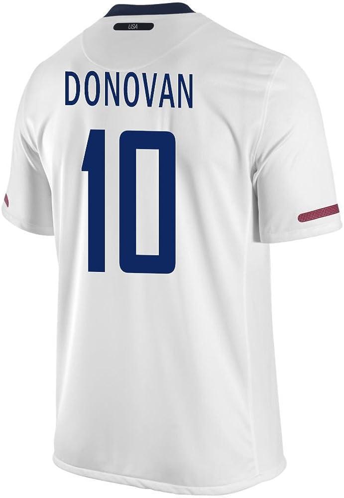 Donovan #10 USA Home Soccer Jersey