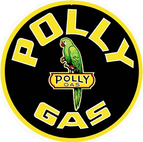 Polly Gas Station Reproduction Sign (Gas Station Sign)