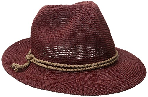 san-diego-hat-company-womens-fedora-with-faux-suede-braided-banddeep-redone-size