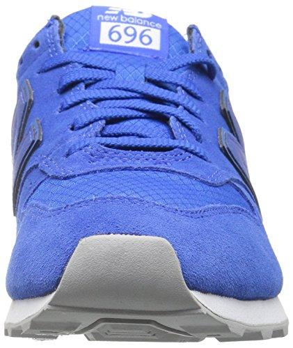 Nuovo Bilancia Donna 696 V1 Sneaker Blu / Rosso Energia
