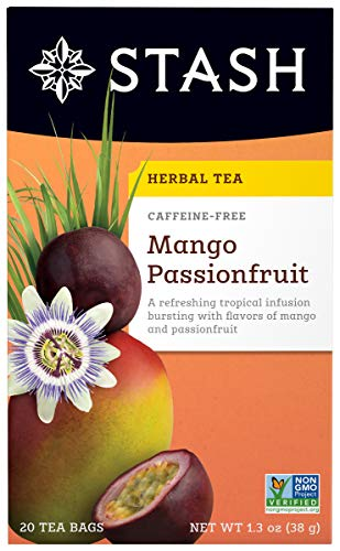 Stash Tea Mango Passion Fruit, 20 ct - Lemon Passion Fruit Fruit