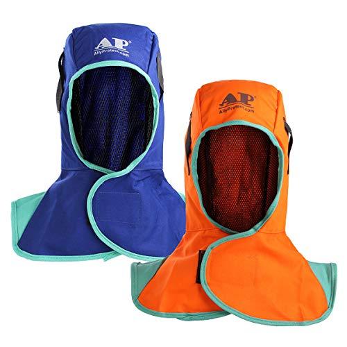 GIlH Welding Neck Protective Cap Welding Hood Flame Retardant Safey Helmet for Welding Machine ()