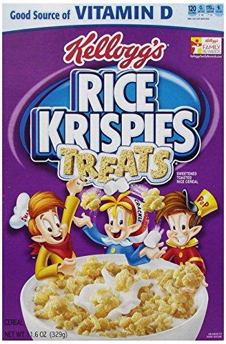 Kellogg's Rice Krispies Treats Cereal, 11.6 Ounce (Breakfast Rice)