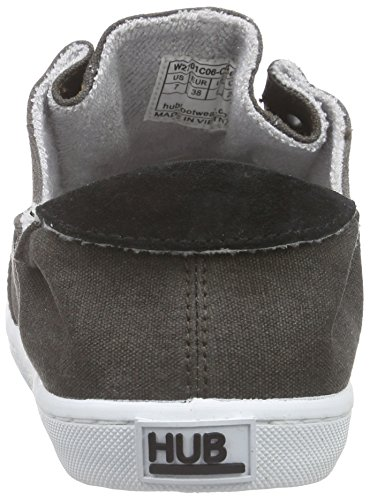 Schwarz Hub Women's C06 Black Shoes Boat Kyoto Wht Black 001 Y6vwYqU