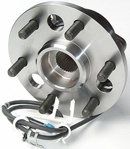 1999 For GMC Yukon Denali Front Wheel Bearing and Hub Assembly x 2 (Note: 6 - Wheel Denali Front Yukon Gmc
