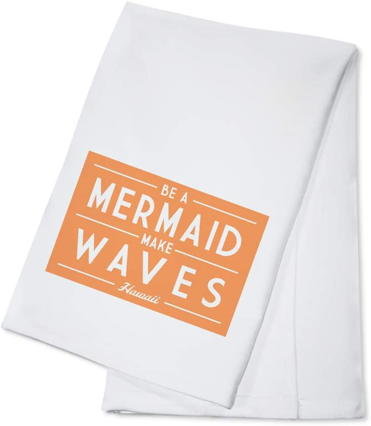 Hawaii Be A Mermaid Make Waves Simply Said 99375 100 Cotton Kitchen Towel Kitchen Dining