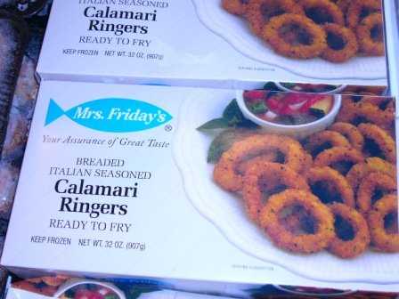 2 Lb Calamari Rings Breaded by Robert Wholey & Co.