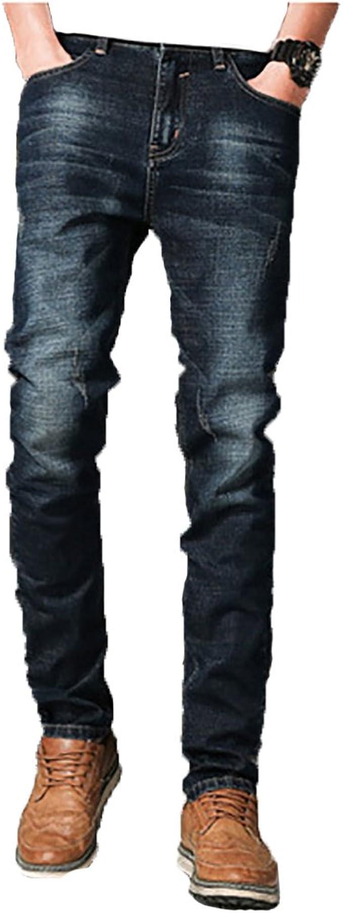Williamジーンズメンズスキニージーパンズボン大きいサイズストレッチデニムパンツストレートストレートシリーズストレートジーパンロングパンツ春夏秋冬人気ブランドパンツジーパンジーンズデニム美脚細身標準薄手