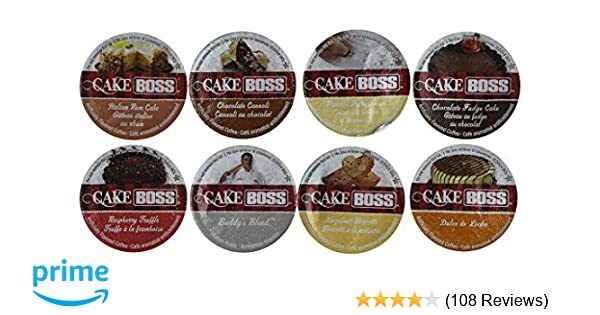 40 Count - Cake Boss Variety Pack Single Cup Coffee for K-Cup Keurig Brewers: Amazon.com: Grocery & Gourmet Food