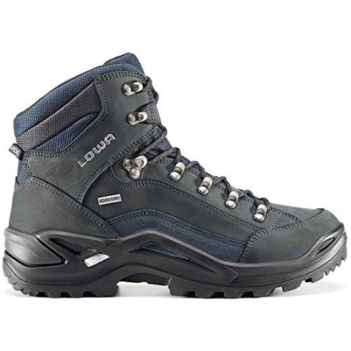 LOWA RENEGADE GTX MID WID 310968/9449 Unisex-adult Hiking Boot - Dark Grey/Navy hNxXoDBU