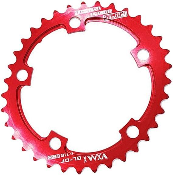 110BCD 50 35T Rennrad Kettenblatt Oval CNC Ultraleicht Radfahren Kettenblatt