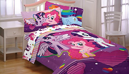 My Little Pony 5pc Full Comforter And Sheet Set Bedding
