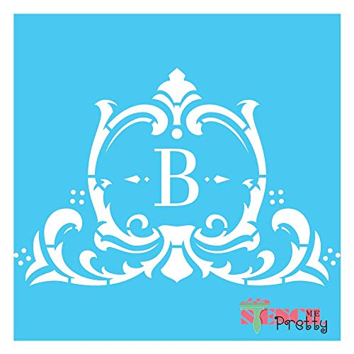 Standard Brilliant Blue Color Material Stencil -