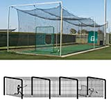 Baseball Batting Tunnel Steel Frames - 4 Sections