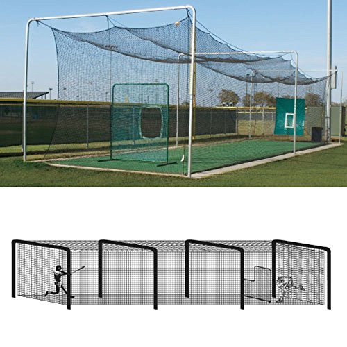 Baseball Batting Tunnel Steel Frames - 4 (Batting Tunnel Frame)