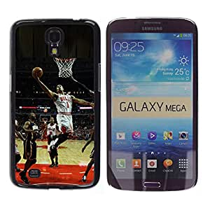 iKiki Tech / Estuche rígido - Bulls Basketball 1 - Samsung Galaxy Mega 6.3