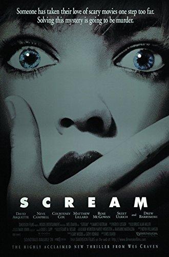 Scary Movie Posters (Scream Movie Poster 24x36)