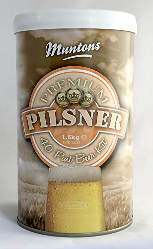 Beer Kit Muntons (Muntons Premium Pilsner Beer Making Kit, 53-Ounce Can)