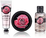 british beauty - The Body Shop British Rose Beauty Bag
