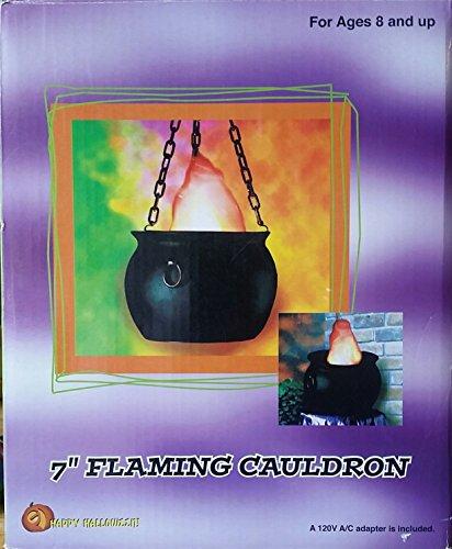 Flaming Cauldron -