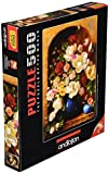 500 Piece - Anatolian Puzzle - Floral Alcove Puzzle by Anatolian