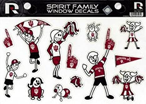 Rico NCAA Small Family Sticker Sheet