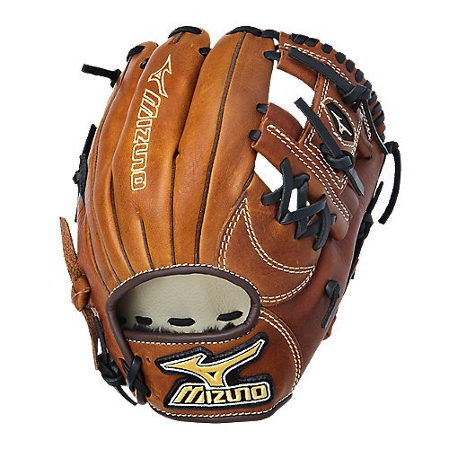 (Mizuno GMVP1125B1 MVP Baseball Fielder's Mitt (Copper, 11.25-Inch, Right Handed)