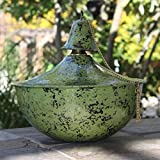 Starlite Garden And Patio Torche 1204-Et-Tt Maui Grande Tabletop Earth Tone Earthtone Torch,Green/Black