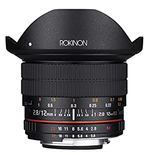 Rokinon 12mm F2.8 Ultra Wide Fisheye Lens for Sony Alpha A Mount DSLR Cameras - Full Frame Compatible (B00PDHY4Z2) | Amazon price tracker / tracking, Amazon price history charts, Amazon price watches, Amazon price drop alerts