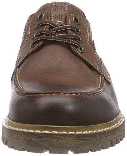 FRETZ men Boris, Scarpe Stringate Basse Derby Uomo Marrone (Braun (82 Cavallo))