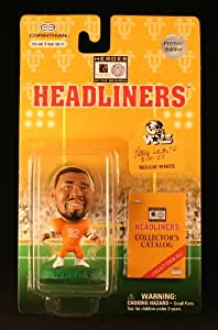 REGGIE WHITE / UNIVERSITY OF TENNESSEE VOLUNTEERS * 3 INCH * 1996 NFL Heroes of the Gridiron * Premier Edition * Headliners Football Collector Figure